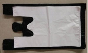 Customed Plastic Bags for Packing ---White or Black