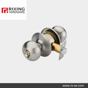 Iron or Stainless Steel Cylindrical Knob Lock (5791SN)