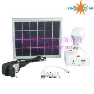3W LED with Remote Control Solar Camping Light pictures & photos