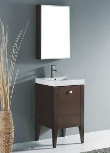 Solid Wood Bathroom Cabinet with Classic Design pictures & photos