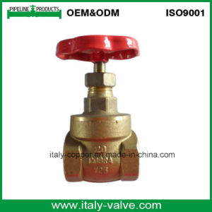 Italy Type Quality Brass Gate Valve (AV4053) pictures & photos