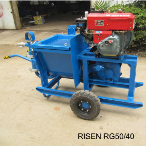 Risen Rg50/40 Mortar Pump with Diesel Engine pictures & photos