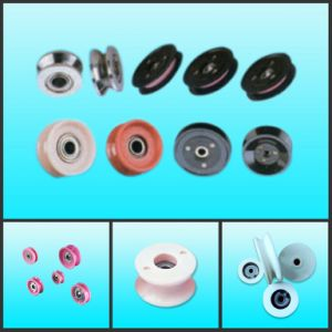 Ceramic Idler Pulley Rolle Wire Guide Pulley Wire Guide Wheel