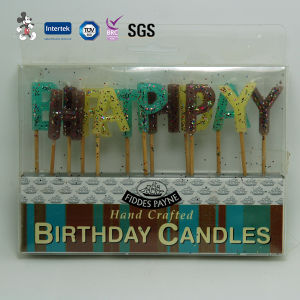 Wholesale Smokeless Dripless Birthday Candle pictures & photos