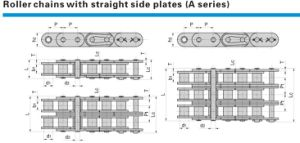 Roller Chains with Straight Side Plates (A series) pictures & photos