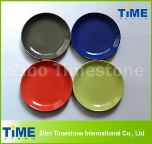 Wholesale Ceramic Solid Color Dinner Plate pictures & photos