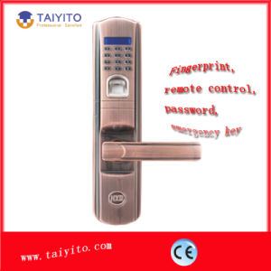 OEM Supported Factory Price Smart Fingerprint Door Lock by Taiyito