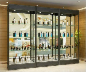 Modern Fashion Aluminum Glass Display Cabinets