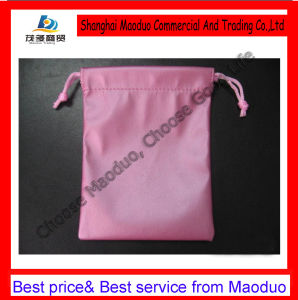 Wedding Sweet Soft Velvet Pouch with Lovely Logo (MD-AD-2052)