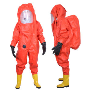 china heavy duty chemical protective clothing chemical protective