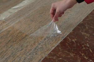 PE Protective Film for Protecting Artificial Marble pictures & photos