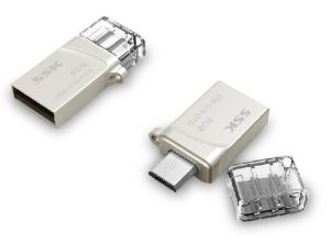 Double Interface Metal Mini USB OTG Individuality Creative USB Stick (OM-M246) pictures & photos