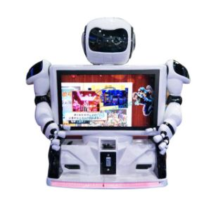 3D Imaging Simulation Interactive Machine Vr Fighting Kung-Fu Video Game Machine Kungfu Robot pictures & photos