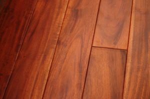 China 12 X 5 Mahogany Red Acacia Engineered Hardwood Flooring