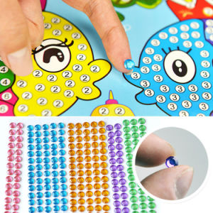New Fashion Wholesale Children DIY Intellectual Diamond Stickers Toys pictures & photos