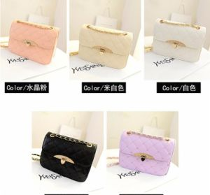 2017 New Embroidery Thread Peach Heart Packet Fashion Handbags Korean Shoulder Messenger Bag pictures & photos