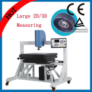 600X500X150mm 2.5D Big Video Image Measuring Instrument