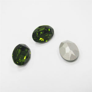 Shiny Fire Crystal Stone Loose Oval Shape Precious Crystal Stones pictures & photos