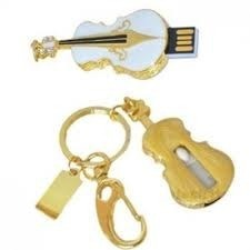 Jewelry Mini Guitar Memory Stick Pen Drive USB Flash Drive pictures & photos