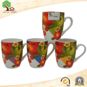 2017 New Design Shiny Colorful 13 Oz Ceramic Milk, Coffee Mug pictures & photos