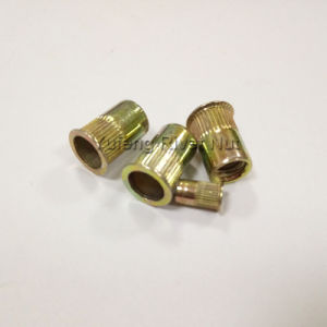 Yellow Zinc British&American System Small Head Rivet Nut pictures & photos