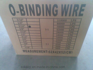 Twin Ring Spiral Binding Wire pictures & photos