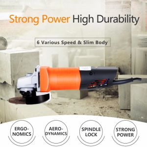 Variable Speed Angle Grinder with Six Grades (KD35)