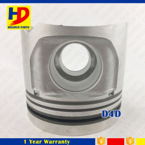 China D4d Piston with Pin in Stock for Excavator Engine