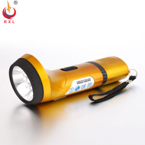 Ce RoHS Approval Plastic Rechargeable Torch Flashlight FT-018f