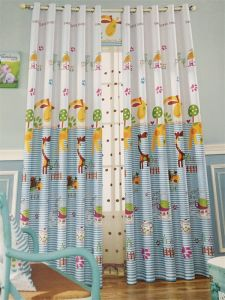 2016 Morden Polyester Texile Window Curtain Fabric EDM4868