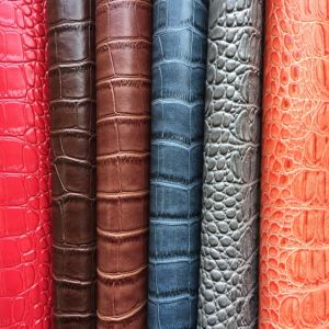 PVC Synthetic Leather for Handbag Upholstery