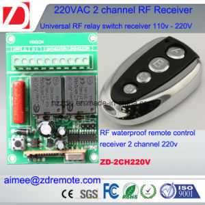 2channel 50m RF Remote Control Switch 220V pictures & photos