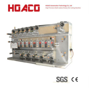 CE Approved Die Cutting Machine for Cell Phone Gaskets 8 Stations