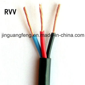 3-Core PVC Insulated Pcv Sheathed Flexible Alarm Copper Wire