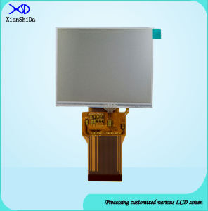 550CD/M2 Brightness 3.5 Inch TFT LCD Screen with Resistive Touch Panel pictures & photos