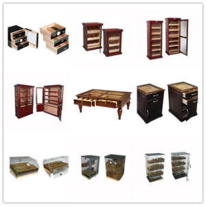 Beau Vinbro Custom Wooden Cigar Display Humidor Cabinets Cigar Lockers Double  Door Floor Commercial Cigar Lounge Furniture