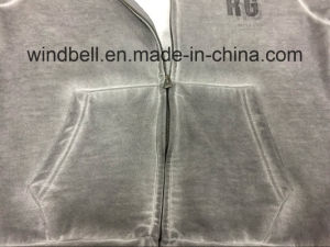 New Design Hoody for Men with Dirty Wash pictures & photos