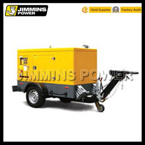 Mobile Power Statioin Wetherproof Trailer Silent Electric Diesel Generator Set (soundproof)