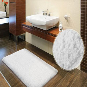 Pure Cotton Plush Bath Rug for Hotel/Home Usage (DPF10502) pictures & photos