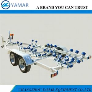 6.5m Tandem Axle Boat Trailer (Galvanized) pictures & photos