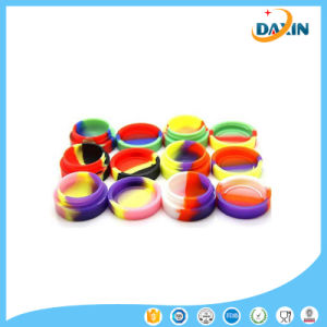 Food Grade Oil Silicone Containers Wax Container Set, Non Stick Silicone Jars, Assorted Colors pictures & photos