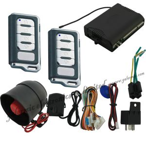 Car Security System with Remote Door Lock Company Siren