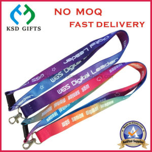 Flat Polyester ID Card Holder as Promotion Gift pictures & photos