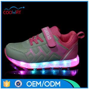China OEM LED Shoes Customize Cheap Price Luminous Sneaker