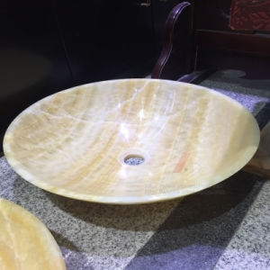 Natural Granite and Marble Round Sinks for Washing Rooms pictures & photos