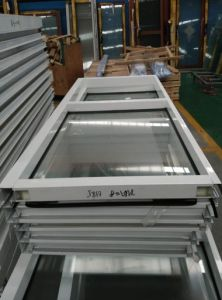 Aluminium Profile Sliding System Window with Hollow Toughened Glass (FT-W126) pictures & photos