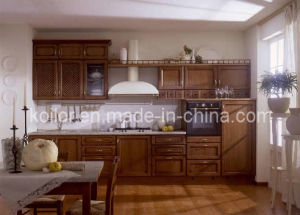 Solid Wood Kitchen Furniture (Mila)