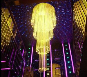 Fiber Optic Chandelier for Hotel Hall (HYFC-2021) pictures & photos