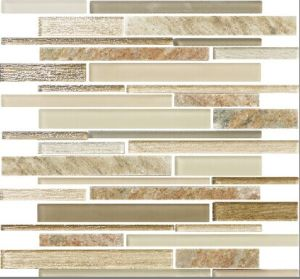 Glass and Marble Stone Mosaic (SDN102301)