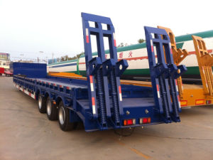 Heavy Machine Carrier Lowbed Semi Trailer pictures & photos